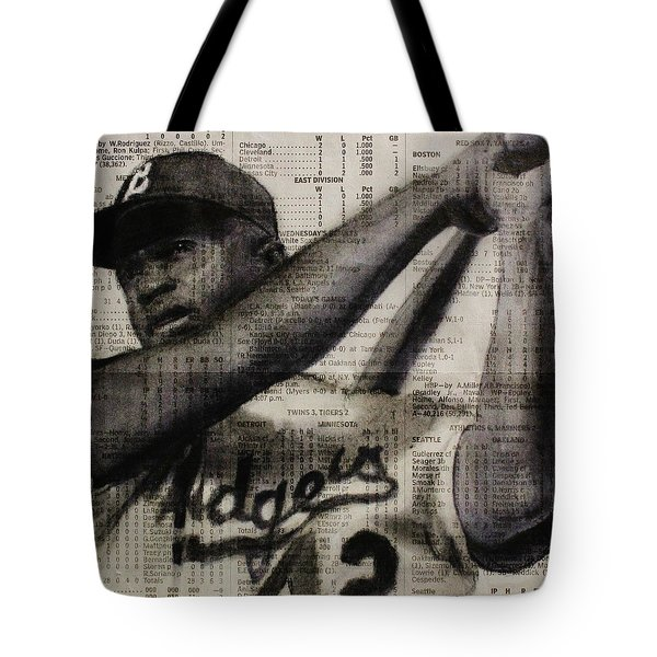 Art In Thenews 16-jackie Tote Bag by Michael Cross