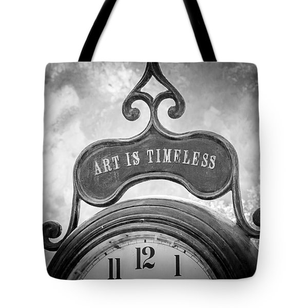 Art Is Timeless Tote Bag