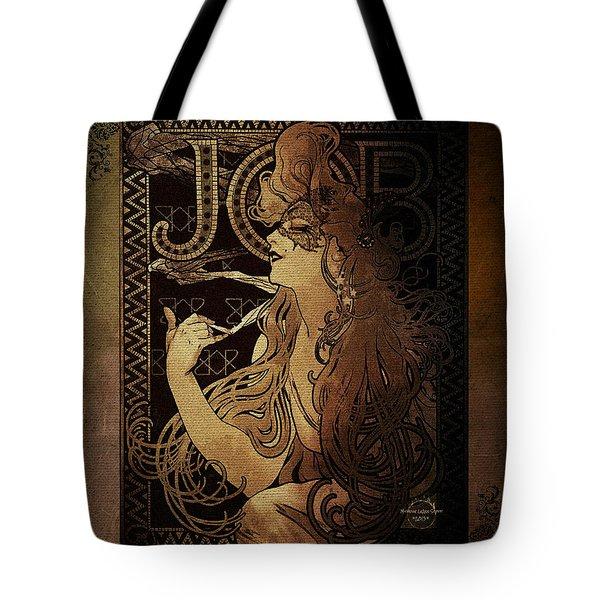 Art Nouveau Job - Masquerade Tote Bag