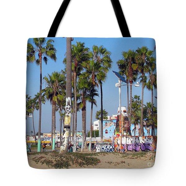 Art Of Venice Beach Tote Bag