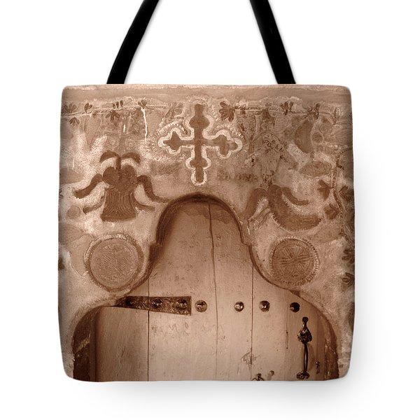 Art On A Door Tote Bag