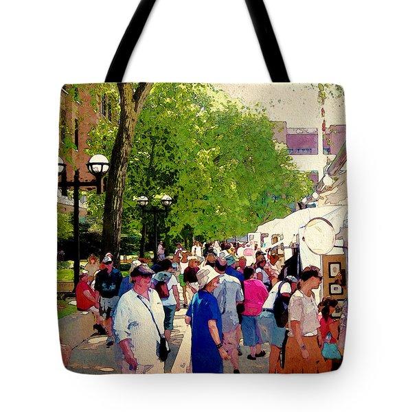 Art Patrons Tote Bag by Phil Perkins