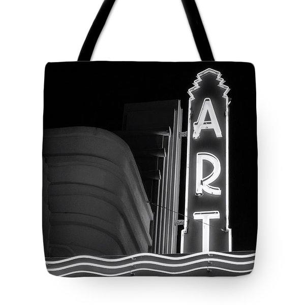 Art Theatre Long Beach Denise Dube Tote Bag