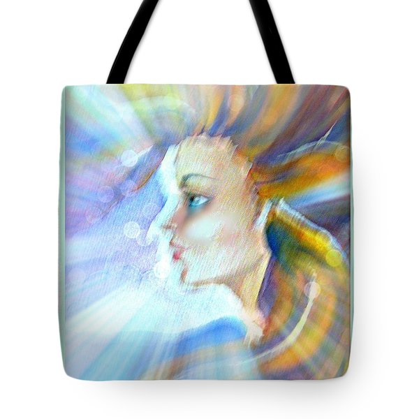 Tote Bag featuring the painting Artemis by Leanne Seymour