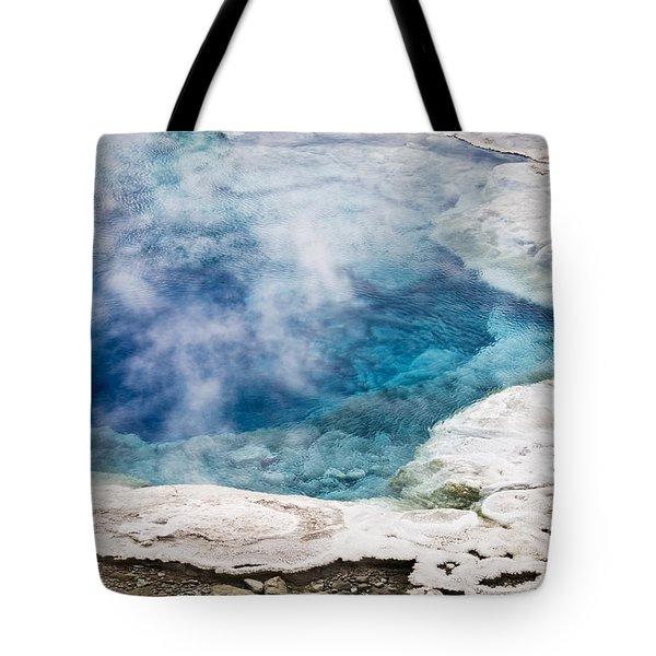 Artemisia Geyser Tote Bag