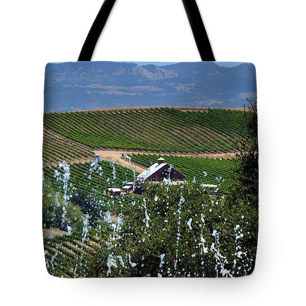 Artesa Vineyards And Winery Tote Bag