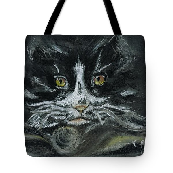 Tote Bag featuring the pastel Arthur  by Teresa White