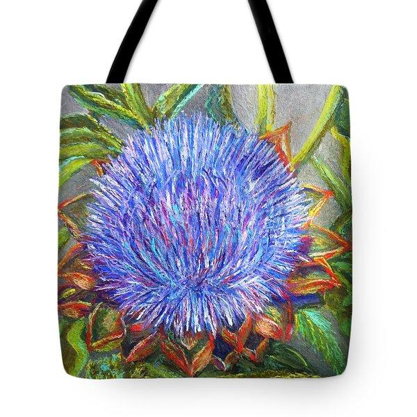 Artichoke Blossom Tote Bag
