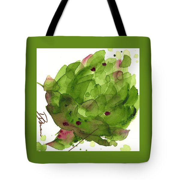 Artichoke II Tote Bag by Dawn Derman