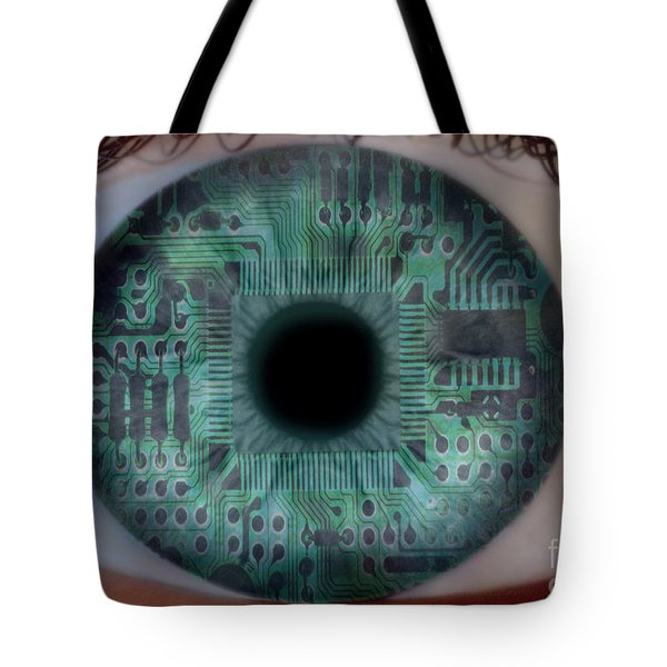 Artificial Intelligence Tote Bag by Mike Agliolo