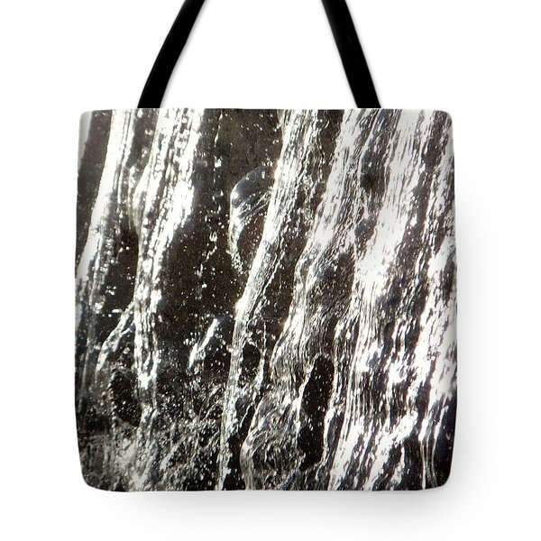 Artificial Waterfall Tote Bag