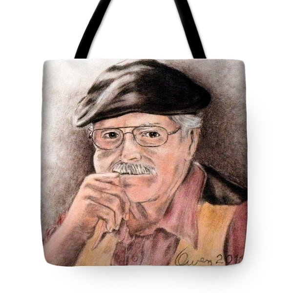 Artist In Solitary Thought Tote Bag