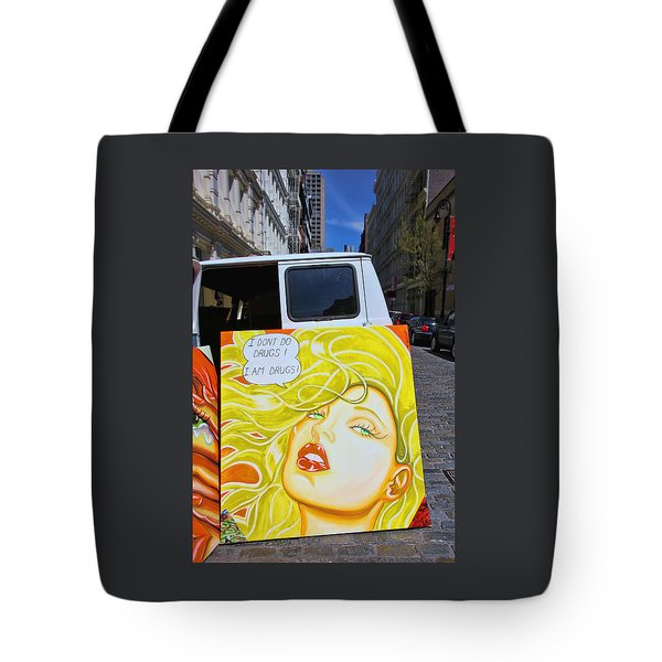 Artist With Attitude Tote Bag by Allen Beatty