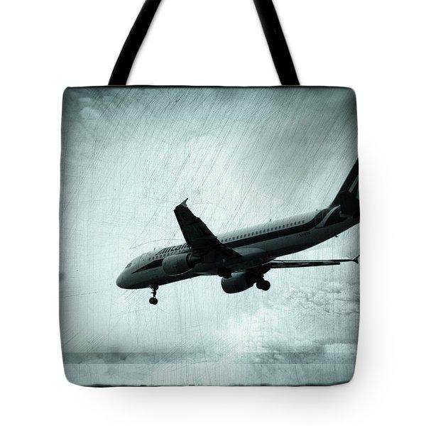 Artistic Alitalia Tote Bag