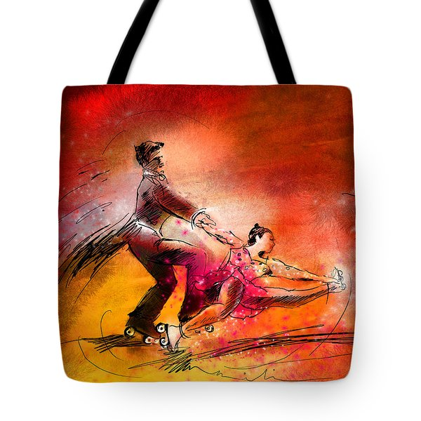 Artistic Roller Skating 02 Tote Bag