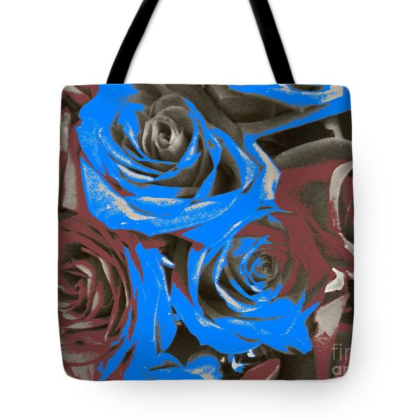 Tote Bag featuring the photograph Artistic Roses On Your Wall by Joseph Baril