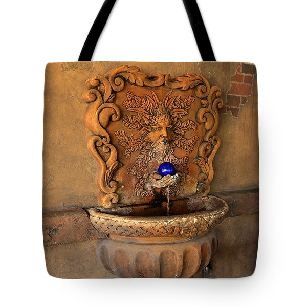 Artistic Water Fountain Tote Bag