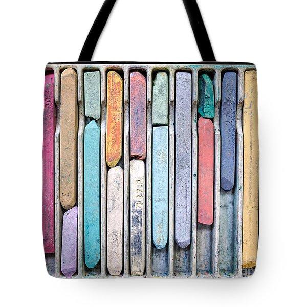 Artists Chalks Tote Bag by Edward Fielding