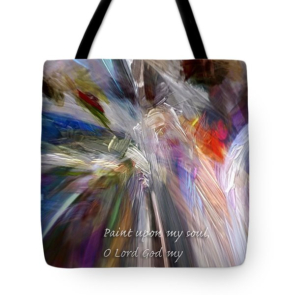 Artist's Prayer Tote Bag