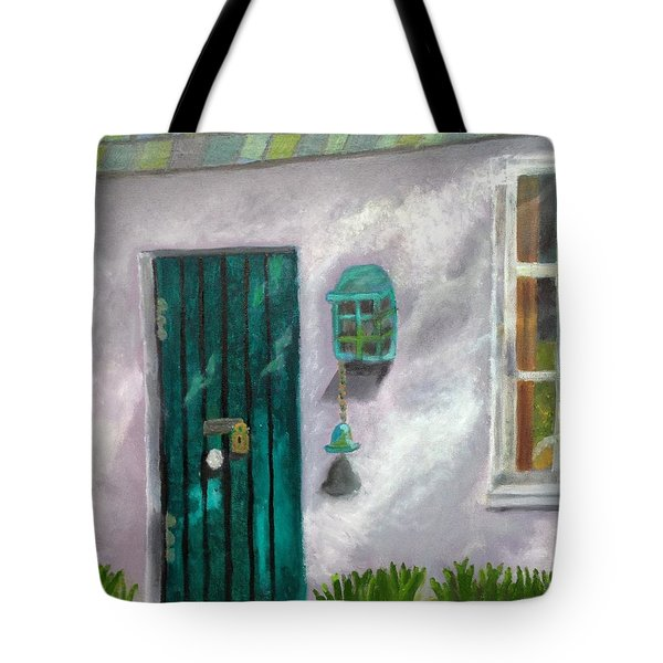 Artist's Studio In The Meadow Tote Bag by Margaret Harmon