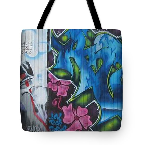 Artwall Tote Bag