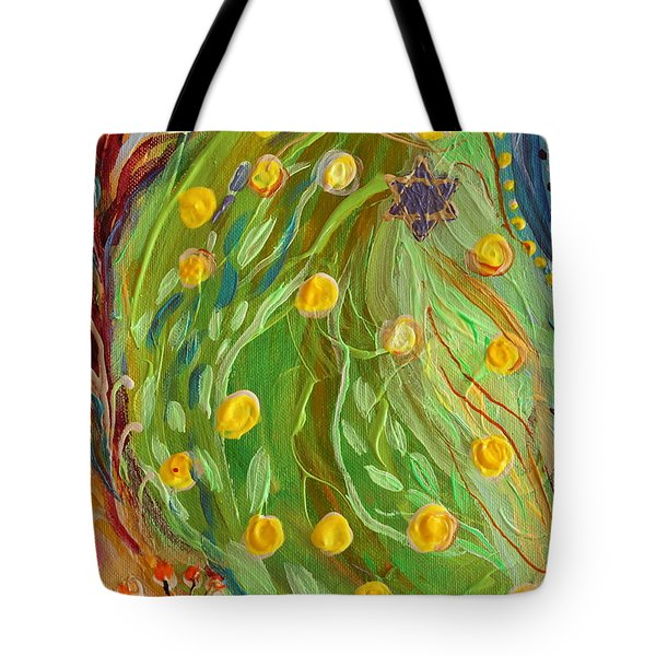 Artwork Fragment 81 Tote Bag by Elena Kotliarker
