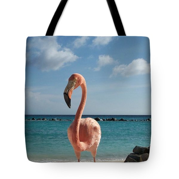 Aruba Hairy Eyeball Tote Bag
