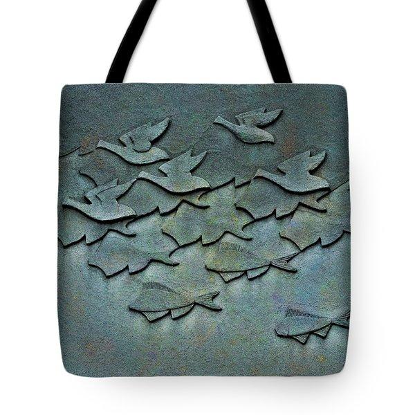 As Above So Below No. One Tote Bag by Andrea Kollo