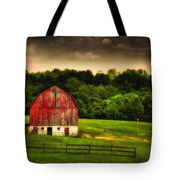As Darkness Falls Tote Bag by Lois Bryan