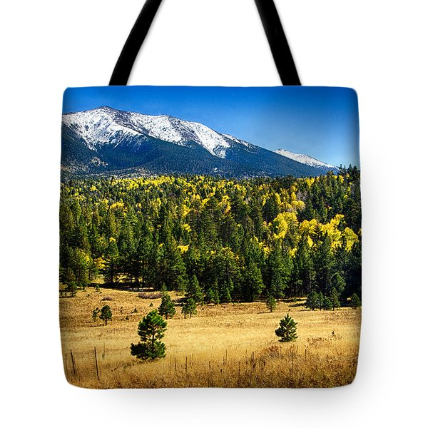 As Fall Arrives In Arizona  Tote Bag