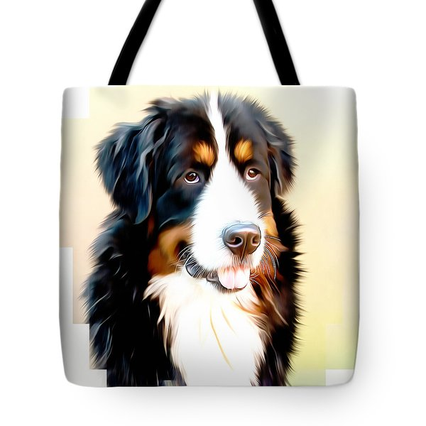 Tote Bag featuring the digital art As Good As It Gets by Isabella Howard
