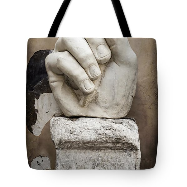 As I Was Saying Tote Bag by Joan Carroll