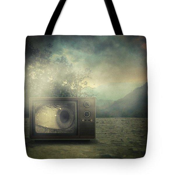 As Seen On Tv Tote Bag by Taylan Apukovska