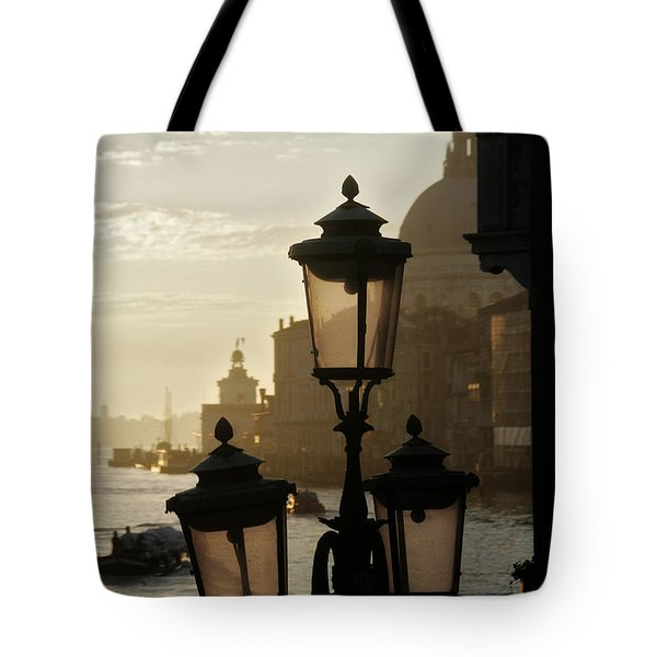 As The Day Begins  Tote Bag