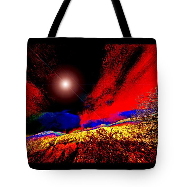 As The Forest Slid Away Tote Bag