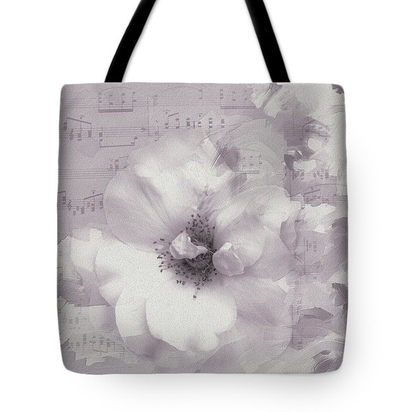 As The Music Fades Tote Bag