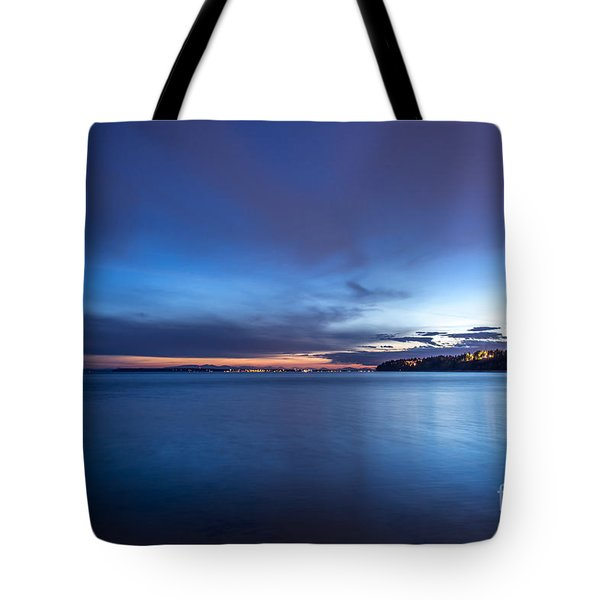 As The Night Sets In - By Sabine Edrissi Tote Bag