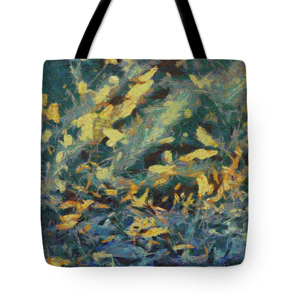 Tote Bag featuring the painting As The Wind Blows by Joe Misrasi