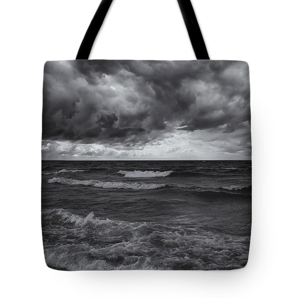 As The World Turns Mono Tote Bag
