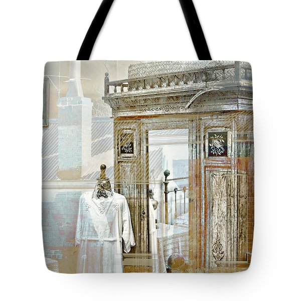 As Time Goes By Tote Bag by Holly Kempe