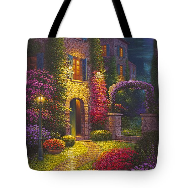 As You Light My Path Tote Bag