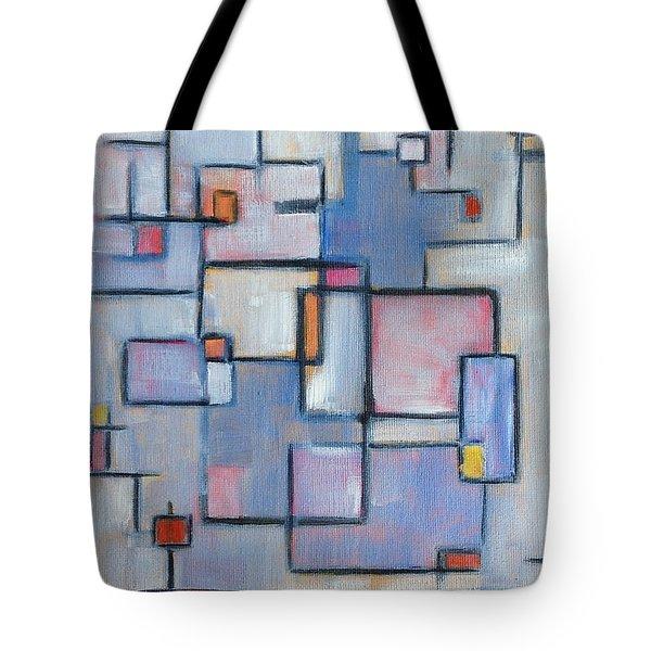 Asbtract Line Series Tote Bag