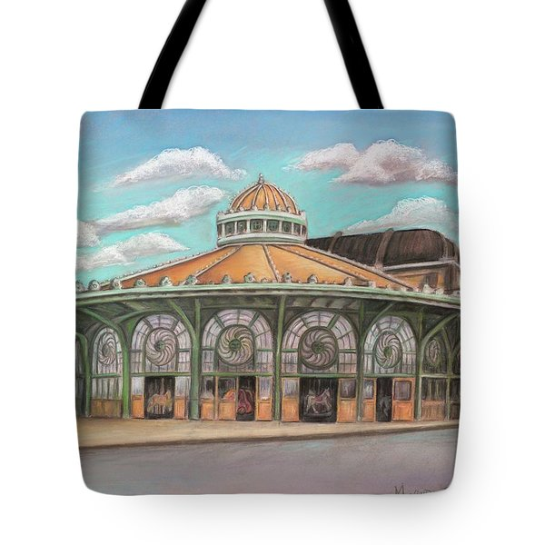 Asbury Park Carousel House Tote Bag