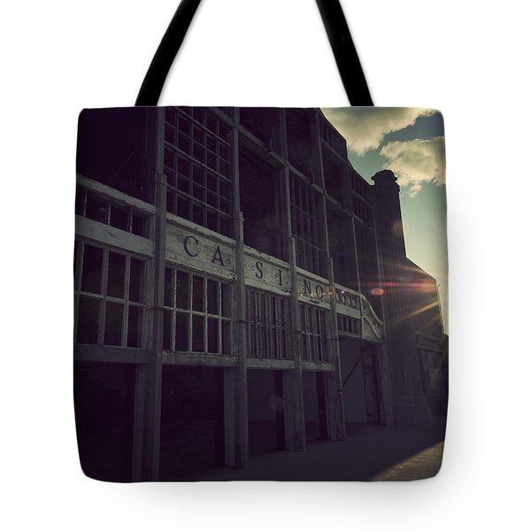 Asbury Park Nj Casino Vintage Tote Bag
