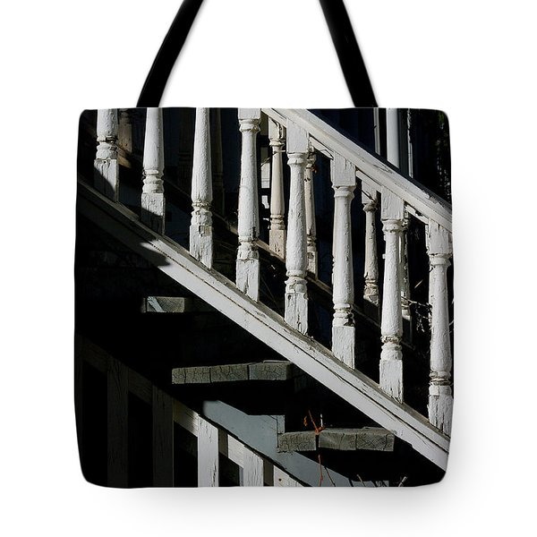 Ascending Into Another Time Tote Bag