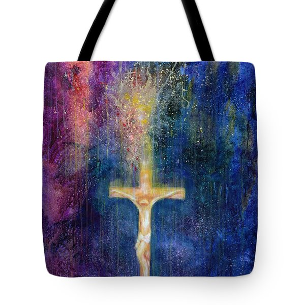 Ascension Tote Bag by Laila Shawa