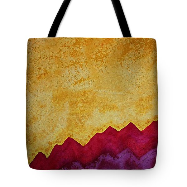 Ascension Original Painting Tote Bag