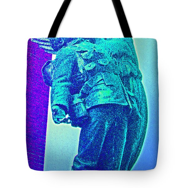 Ascent Of The Hero Tote Bag by First Star Art