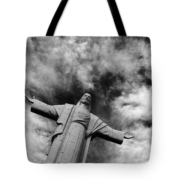 Ascent To Heaven Tote Bag by James Brunker