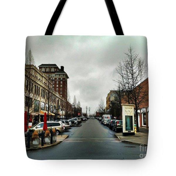 Asheville North Carolina Tote Bag by Janice Spivey